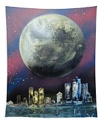 Fantasy Detroit Tapestry