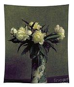 Fantin-latour: Peonies, 1872 Tapestry