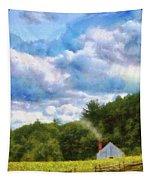 Farm - Barn - Home On The Range II  Tapestry