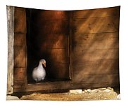 Farm - Duck - Welcome To My Home  Tapestry