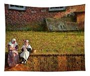Farm - Farmer - Afternoon Break Tapestry