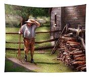 Farm - Farmer - Chores Tapestry