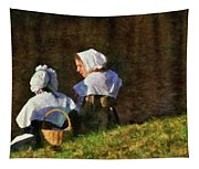Farm - Farmer - The Young Maidens Tapestry