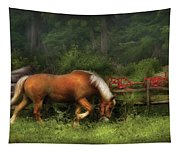 Farm - Horse - In The Meadow Tapestry