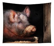 Farm - Pig - Piggy Number Two Tapestry