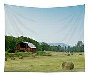 Farm Barn Listing Tapestry