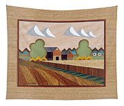 Farm By Ripon-marquetry Tapestry