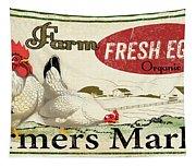 Farm Fresh Eggs-c Tapestry