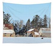 Farm On Echo Avenue Tapestry