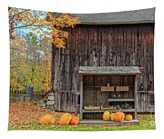 Farm Stand Etna New Hampshire Tapestry