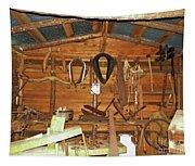 Farm Tools Tapestry