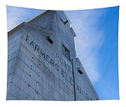 Farmers Grain Elevator, Power, Montana Tapestry