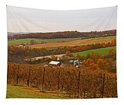 Farming In The Valley Tapestry