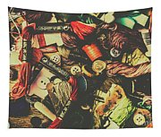 Fashion Designers Desk  Tapestry