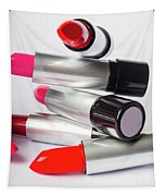 Fashion Model Lipstick Tapestry