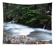 Fast Water Tumbling Fast  Tapestry
