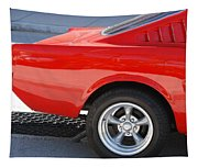 Fastback Mustang Tapestry