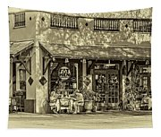Fat Hen Grocery Sepia Tapestry