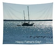 Father's Day Card - Peaceful Bay Tapestry