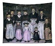 Fautrier: Sunday Stroll Tapestry