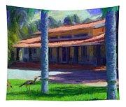 Farm Main House 1 Tapestry