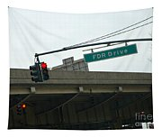 Fdr Drive Tapestry