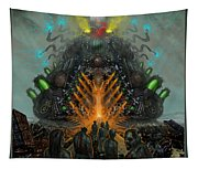 Feeding The Juggernaut Tapestry