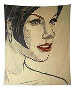 Felt Tip Female Tapestry