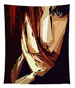 Female Expressions Xiii Tapestry