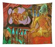 Female Mystic Tapestry