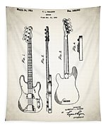 Fender Precision Bass Patent 1952 Tapestry
