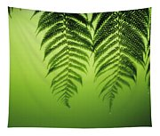 Fern On Green Tapestry
