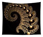 Fern-spiral-fern Tapestry