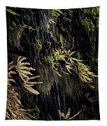 Ferns Below Falls By Jean Noren Tapestry