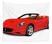 Ferrari California Tapestry