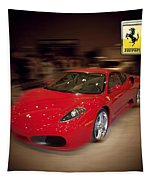 Ferrari F430 - The Red Beast Tapestry