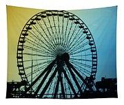 Ferris Wheel - Wildwood New Jersey Tapestry