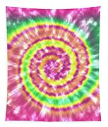Festival Spiral Bright Colors- Art By Linda Woods Tapestry