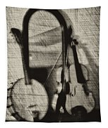 Fiddle And Mandolin Banjo Tapestry