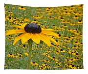 Field Of Coneflowers Tapestry