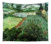 Field With Poppies Tapestry