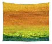 Fields Of Gold 3 - Abstract Summer Landscape Painting Tapestry