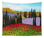 Fields Of Memories Tapestry