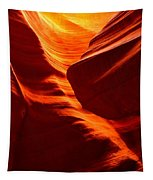 Fiery Sandstone Abstract Tapestry