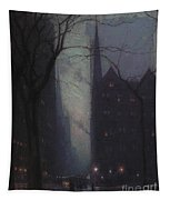 Fifth Avenue At Twilight Tapestry