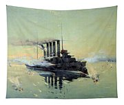 Fighting On July In The Yellow Sea Tapestry
