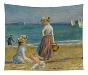 Figures On The Beach, 1890 Tapestry