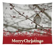 Finch Christmas Tapestry