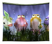Finding Nemo Figurine Characters Tapestry