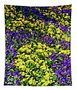 Fine Wine Cafe Colorful Garden Tapestry